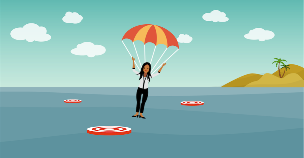 A marketer parachuting into the water misses landing on the channels where customers spend time.