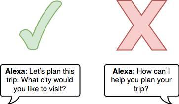 example of how Alexa might respond