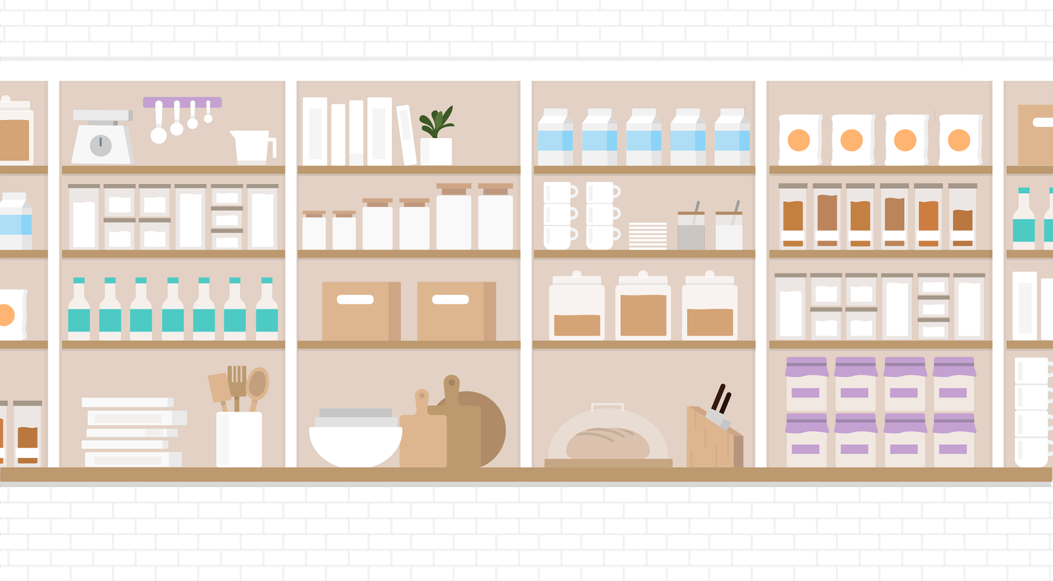 EDA is like a perfectly organized and fully-stocked pantry.