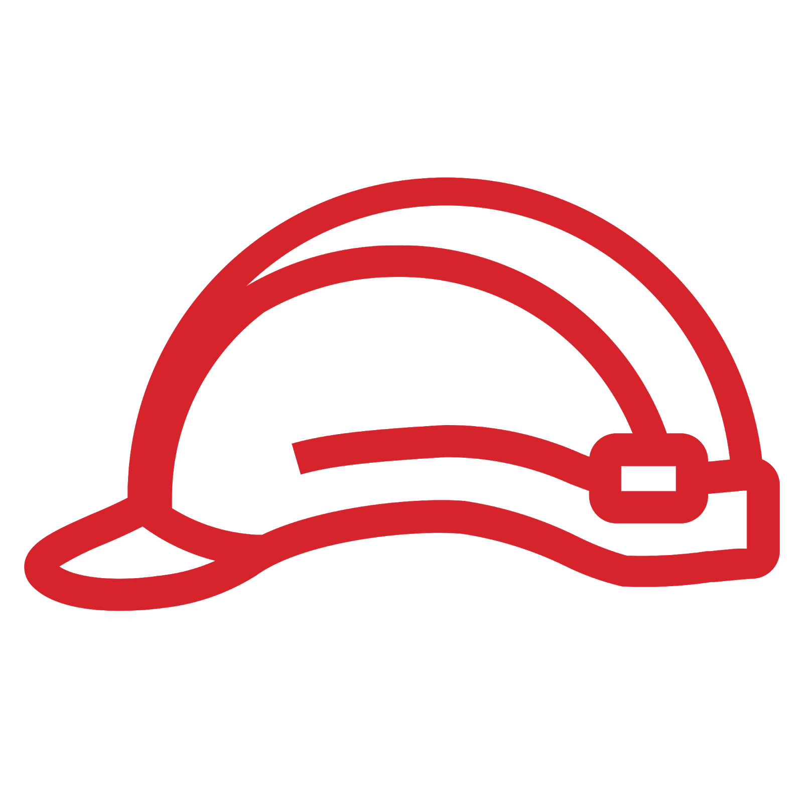 Role icon depicting a construction hard hat