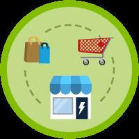 B2B Commerce on Lightning Experience Data Model icon