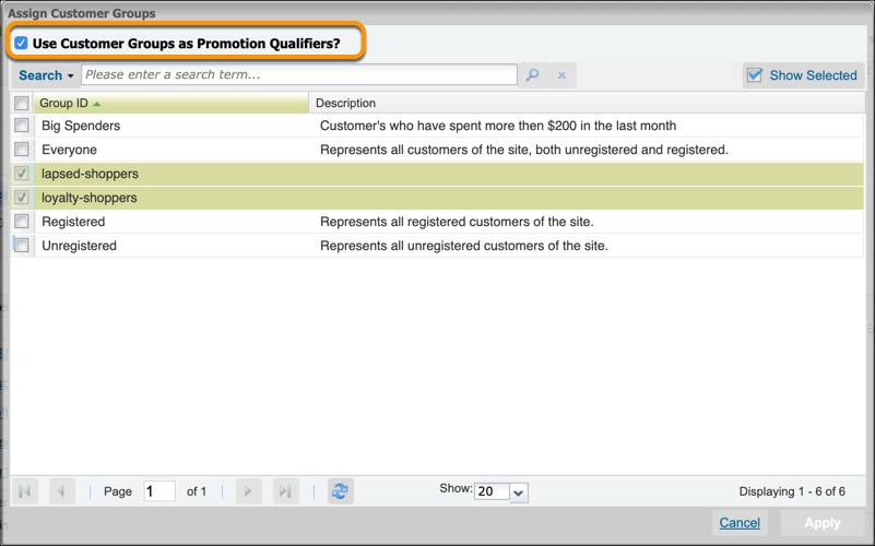 In Business Manager, deselect Use         Customer Groups as Promotion Qualifiers? to remove it from a         promotion.