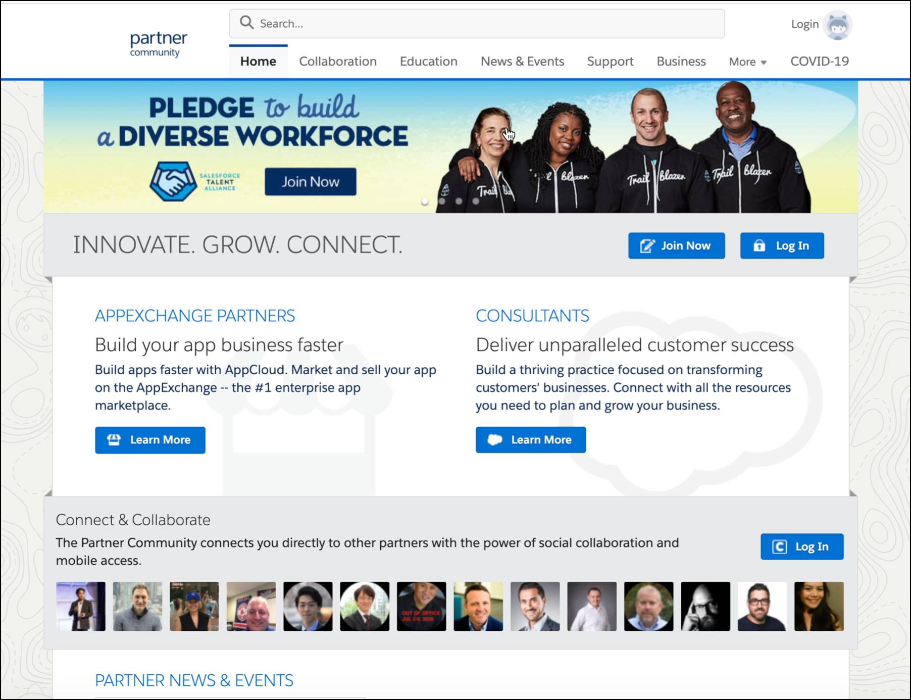 Join the Salesforce Partner Community to get answers, share ideas, and learn best practices.