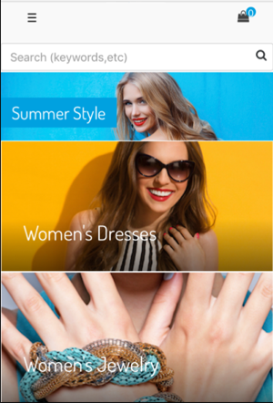 Subcategory navigation: Summer Style, Women's Dresses, Women's Jewelry