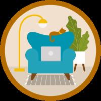 Bonnes pratiques à suivre pour travailler à domicile icon