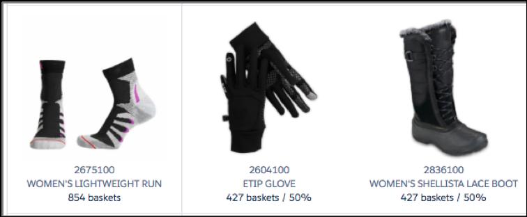 Des chaussettes d'hiver sont souvent commandées en même temps que des gants et des bottes d'hiver.