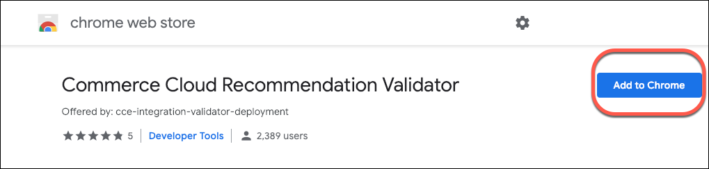 Commerce Cloud Recommendation Validator