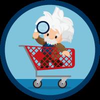 Búsquedas inteligentes con Commerce Cloud Einstein icon