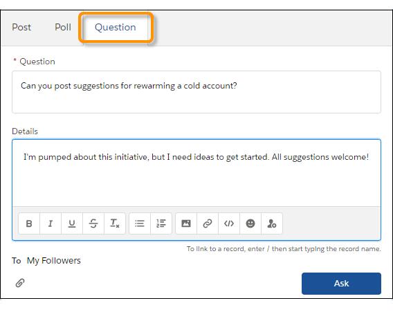 Publicador de preguntas