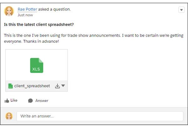 ファイルが添付された質問