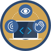 Coding for Web Accessibility icon