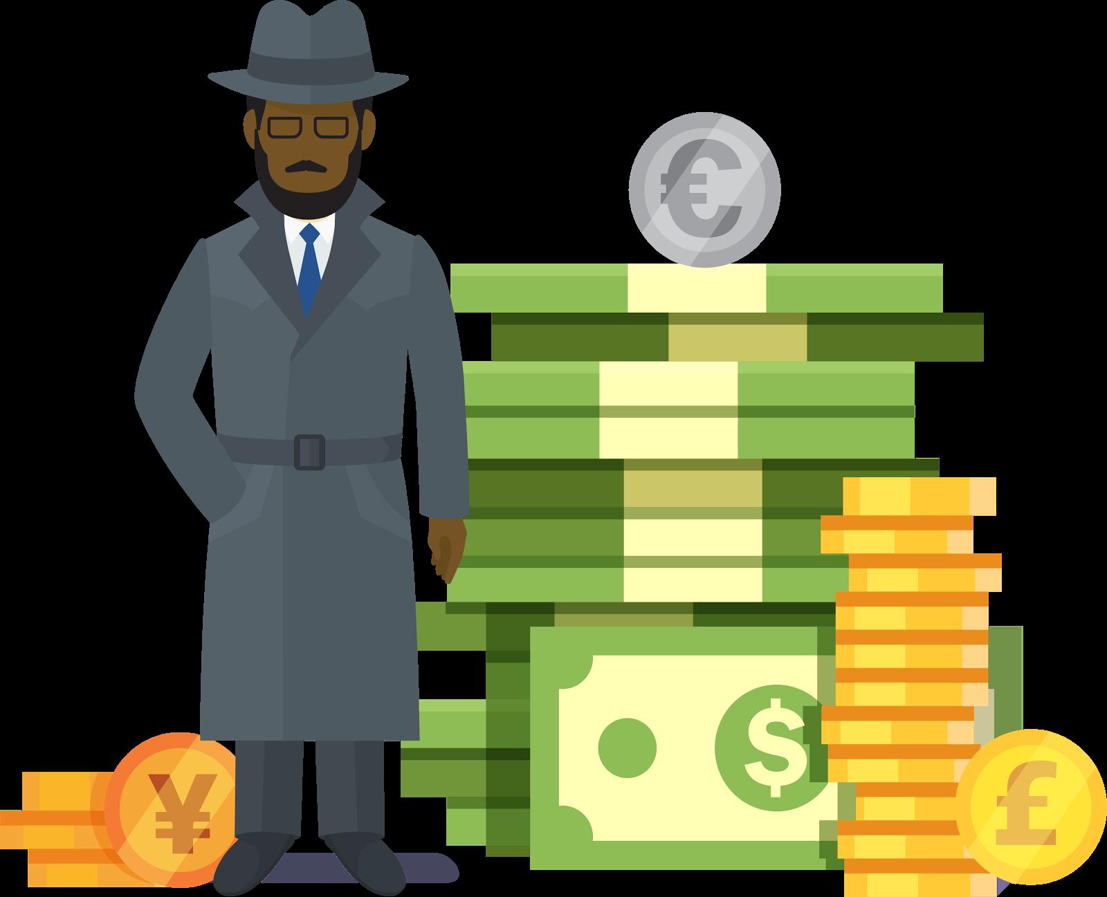 Cada usuário na empresa tem sua própria moeda