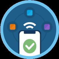 Concepts de base des applications connectées icon