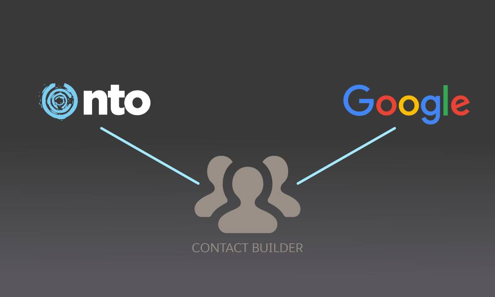 Contact Builder bridges the gap between NTO website data and Google analytics data.