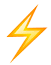 Decorative image of lightning bolt