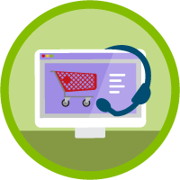 Customer Service Solutions for Salesforce B2C Commerce icon