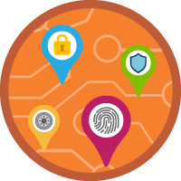 Cybersecurity Architecture icon