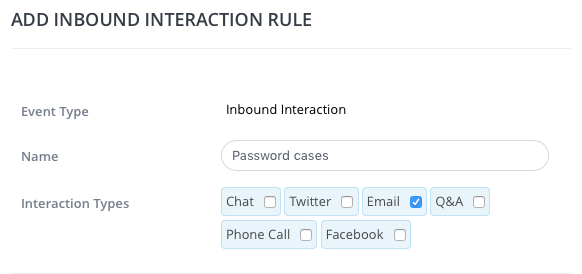 inbound interaction rule