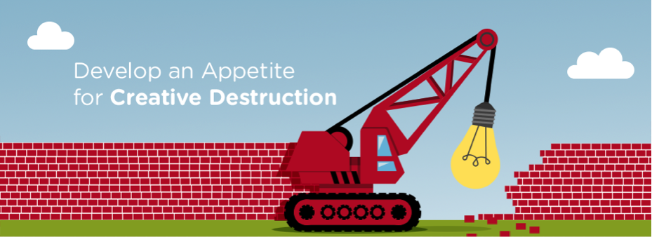 Develop an Appetite for Creative Distruction