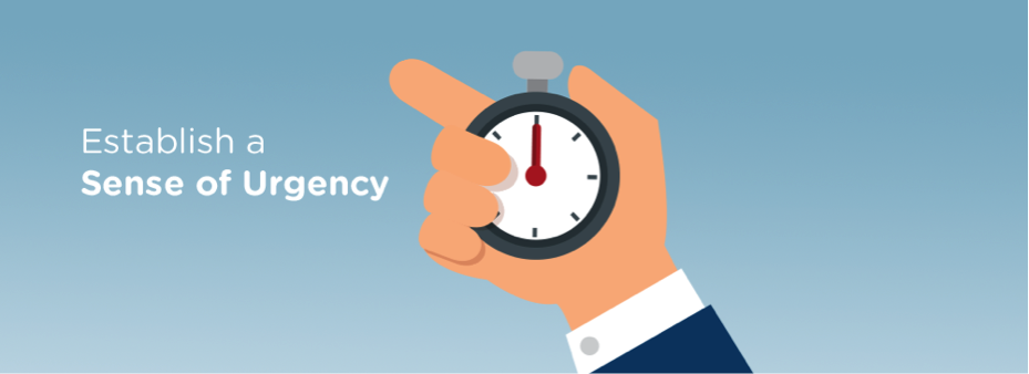 Establish a Sense of Urgency