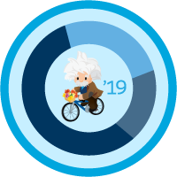Einstein Analytics and Discovery コンサルタント認定資格の更新 (Spring '19) icon