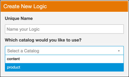 Create new logic screen.