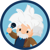 Einstein Voice Basics badge