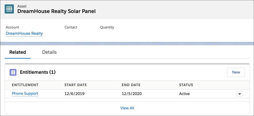 DreamHouse Realty Solar Panel asset