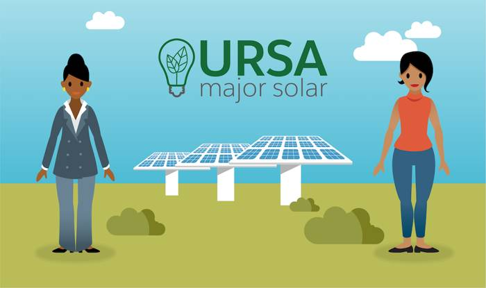 Ursa Major Solar logo.