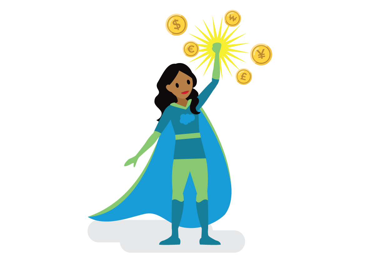 Salesforcelandian financial superhero.