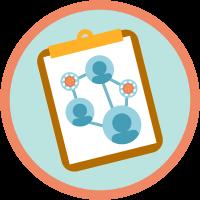 Apoyo sanitario para rastreadores de contactos icon