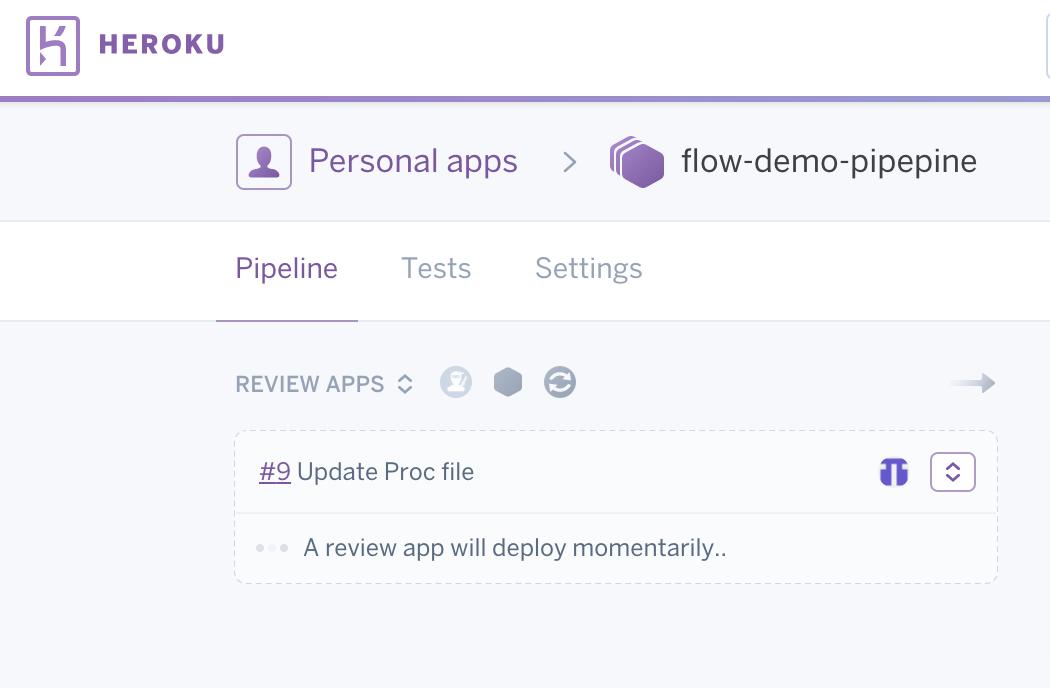 Neue Review App wird erstellt