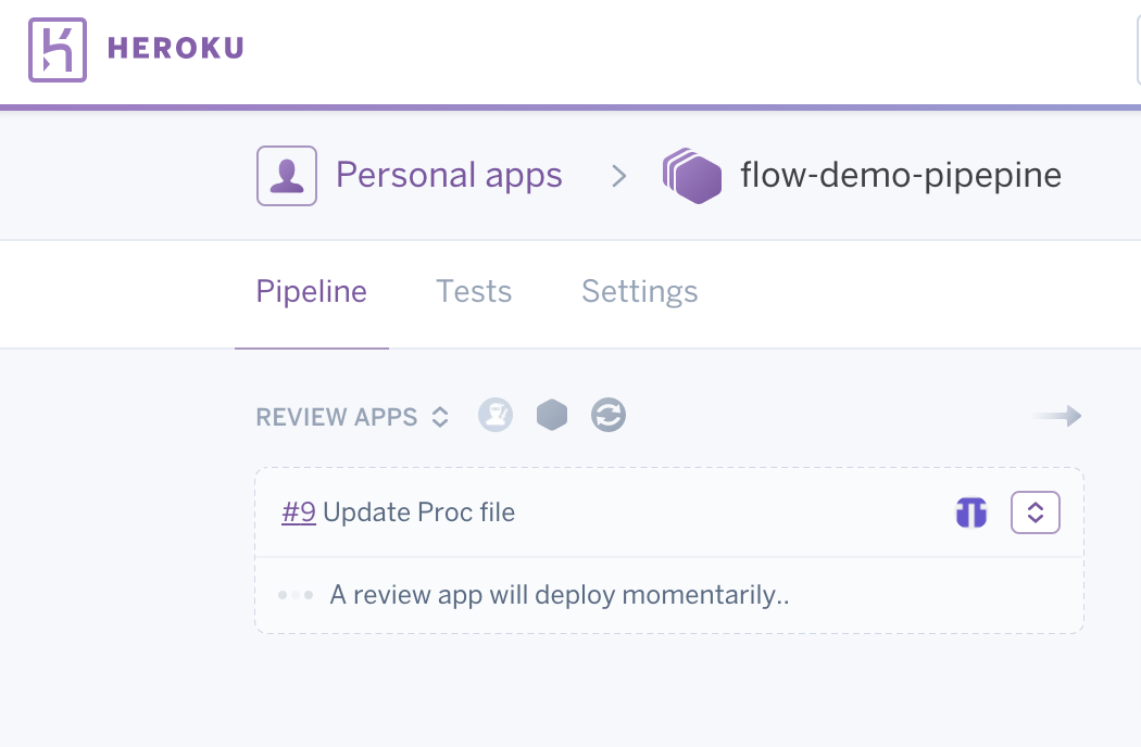 New review app is created