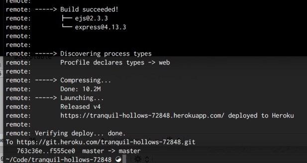 Captura de tela de texto passando em uma janela de comando do terminal