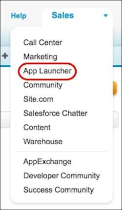 Klassischer App Launcher