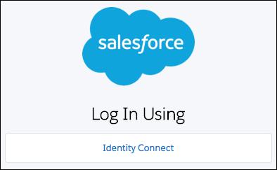 Identity Connect ログインページ