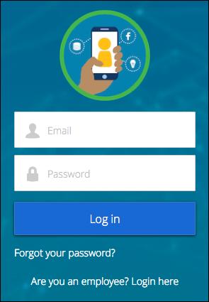 External Identity-Community mit angepasstem Logo