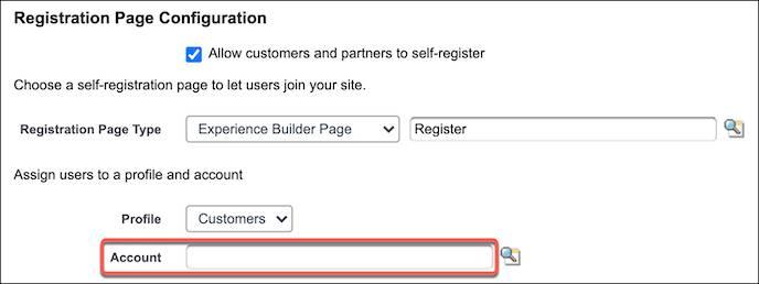 登録ページ設定で取引先を更新する