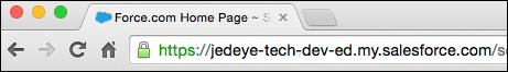 Custom domain URL
