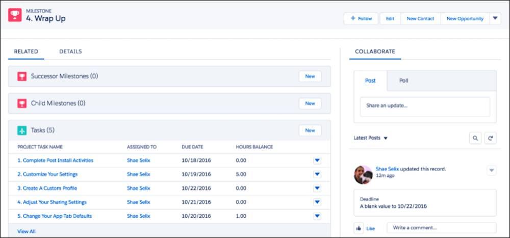 見込み客のデータを使用するインストール可能アプリケーションの画面