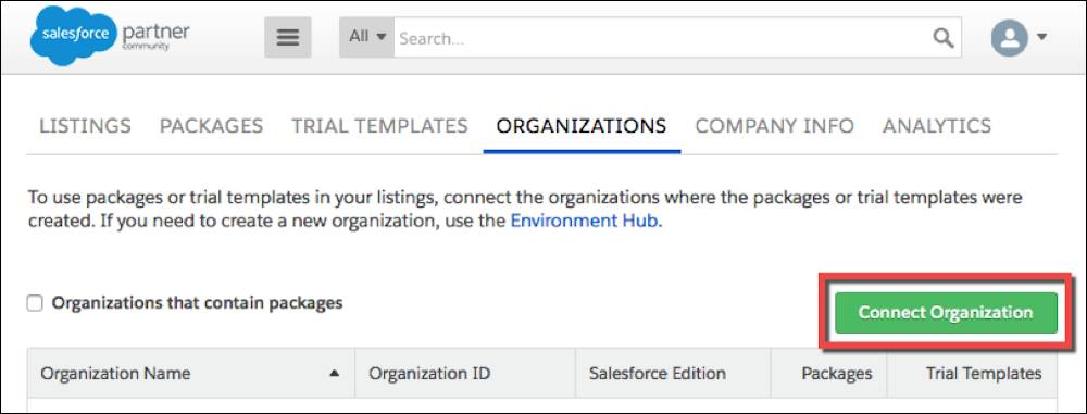 Connecting your TSO on your Listing page