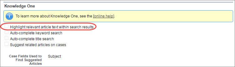 Artikeltext mit hoher Relevanz innerhalb der Suchergebnisse hervorheben