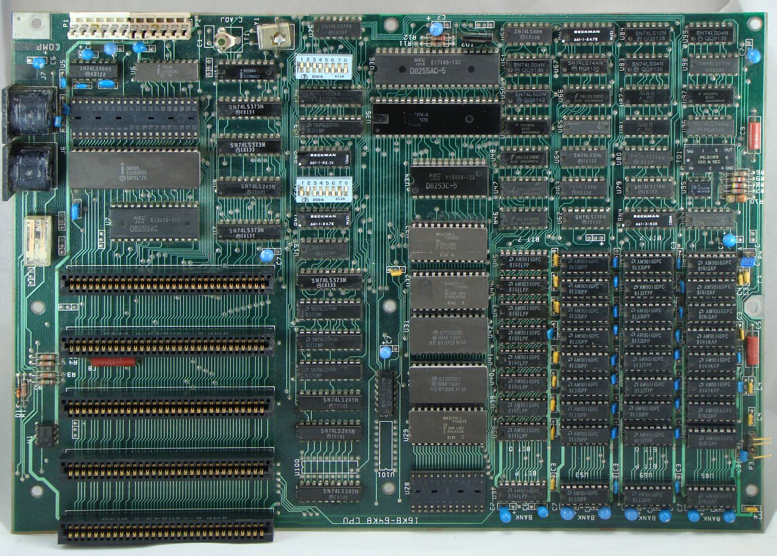 [The motherboard is the main circuit board of a personal computer—one of the key developments of the third industrial revolution]