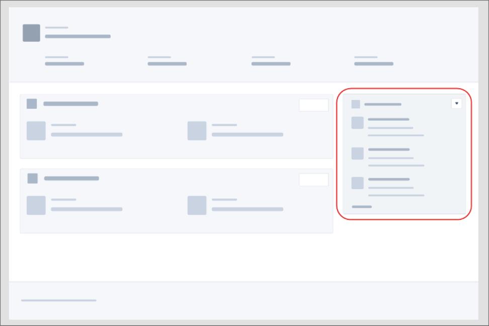 Wie die Überschrift schon besagt, passen Sie Lightning Experience-Datensatzseiten durch Hinzufügen einer Lightning-Komponente an
