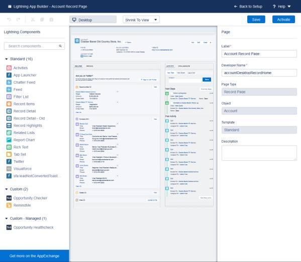 Criar componentes arrastar e soltar para o aplicativo Lightning e o Experience Builder
