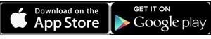 Salesforce for Android および Salesforce for iOS のダウンロードバッジ