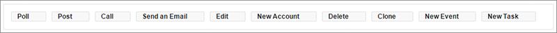 Acciones en el editor de formato de página