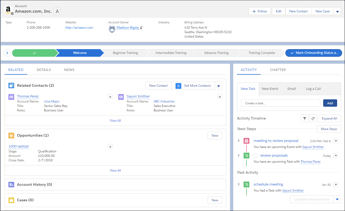 Get Started with Lightning Experience Unit | Salesforce Trailhead