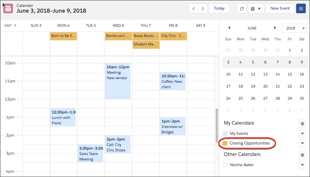 Erstellen eines Kalenders aus beliebigen Quellen