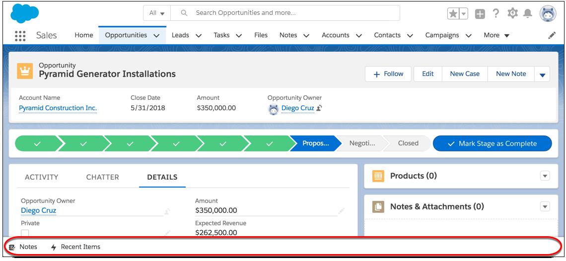 La barra de utilidades en la parte inferior de la pantalla incluye utilidades y herramientas prácticas.